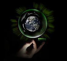 Green Bubble by webart