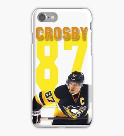 Sidney Crosby - Pittsburgh Penguins iPhone Case/Skin