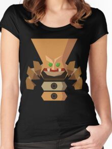 The Dizzy Totem Women's Fitted Scoop T-Shirt