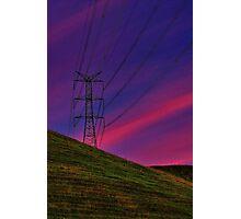 """Power on High"" Photographic Print"