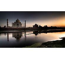 Sunset Taj.  Photographic Print