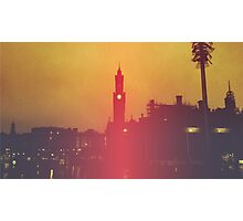 Surreal City Silhouette Photographic Print