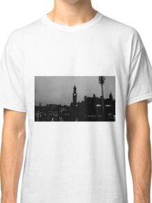 Black and White City Silhouette Classic T-Shirt