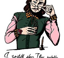Hipster Shakespeare by Jack Mudge