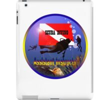 Scuba Diving iPad Case/Skin