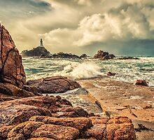 Corbiere Storm by Alan Pryor by jerseygallery