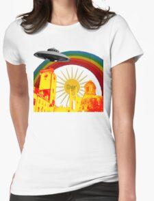 What On Earth Womens Fitted T-Shirt