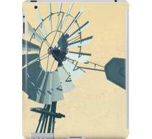 Windmill Illustration iPad Case/Skin