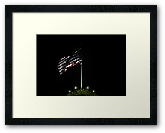 USA Night Flag by webart