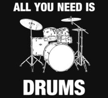 All You Need Is Drums by vikisa
