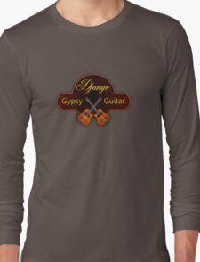 Django Gypsy guitar Long Sleeve T-Shirt