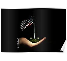 The USA is in His Hands... Poster