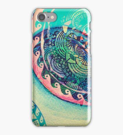 surf mandala iPhone Case/Skin