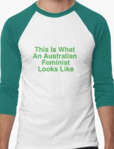 This Is What An Australian Feminist Looks Like (Classic Green & Gold) T-Shirt