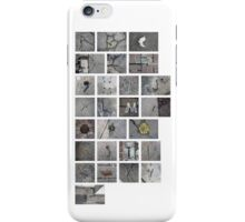 Found Alphabet iPhone Case/Skin