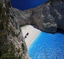 Zakynthos shipwreck beach  by John Quinn
