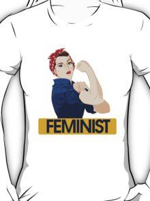 Rosie Riveter Feminist T-Shirt