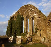 Church ruins by John Quinn