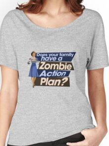 Zombie Action Plan Women's Relaxed Fit T-Shirt