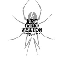 Art Is The Weapon by niiicola