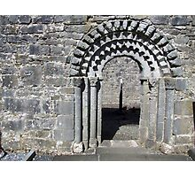 Dysart O Dea church arch Photographic Print
