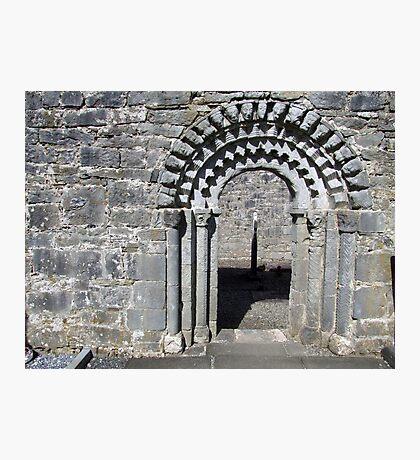 Dysart O Dea church arch Photographic Print