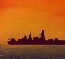 Type 23 Frigate, Royal Navy Sticker