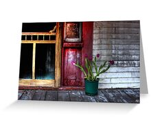 Hope Writ in Tulips Greeting Card