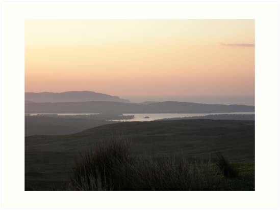 soft evening light - Towards Downings Donegal by mikequigley