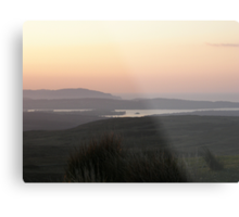 soft evening light - Towards Downings Donegal Metal Print
