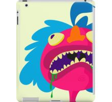 Ugly pink dude iPad Case/Skin