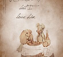 Lady and the Tramp inspired valentine. by topshelf