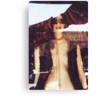 """Hippie Girl """"Hair"""" Canvas Print"""