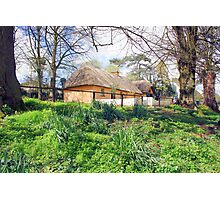 Thatched cottage at Bunratty Photographic Print