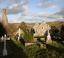 Old Irish cemetery by John Quinn