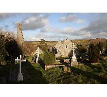 Old Irish cemetery Photographic Print