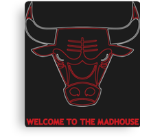 Madhouse Chicago Bulls Canvas Print