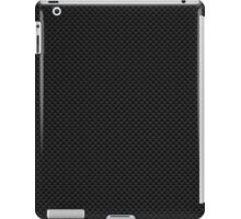 Digital Black Carbon Fiber Print iPad Case/Skin