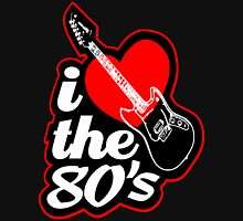 I love the 80's  Womens Fitted T-Shirt
