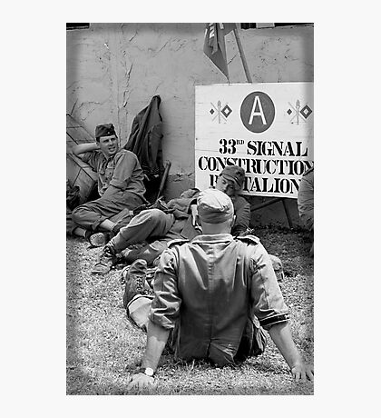 WWII day Photographic Print