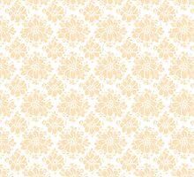 vintage inspired floral pattern design AUDREY by astridmueller