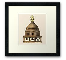 United Corporate Alliance Framed Print