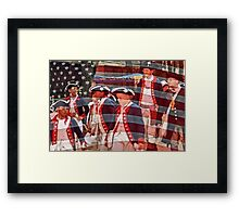 Young Patriots Framed Print