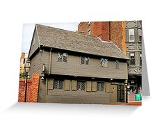 Paul Revere House Greeting Card