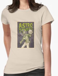 Astro Zombie Womens Fitted T-Shirt
