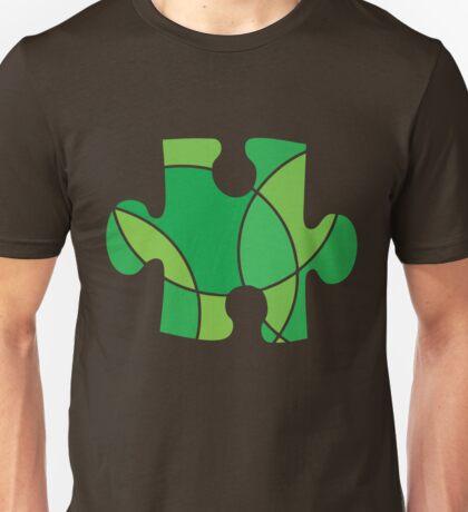Green puzzle piece Unisex T-Shirt