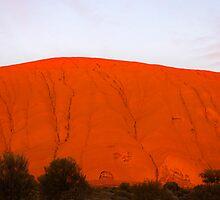 Uluru - A Love Story (part I) by Wendy  Slee