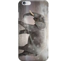 May the Stars Carry Your Sadness Away (Elephant Dreams) iPhone Case/Skin
