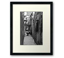 Alleys (Hoi An, Viet Nam) Framed Print