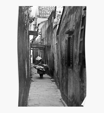 Alleys (Hoi An, Viet Nam) Poster